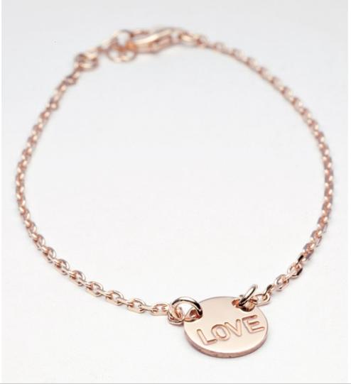 Bracelet vermeil love