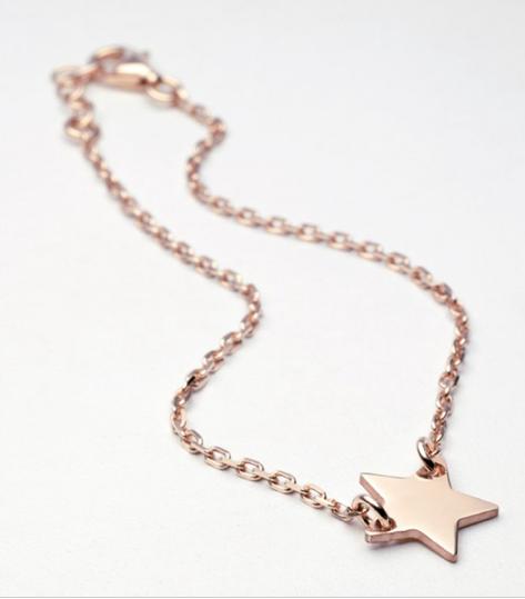 Bracelet étoile vermeil