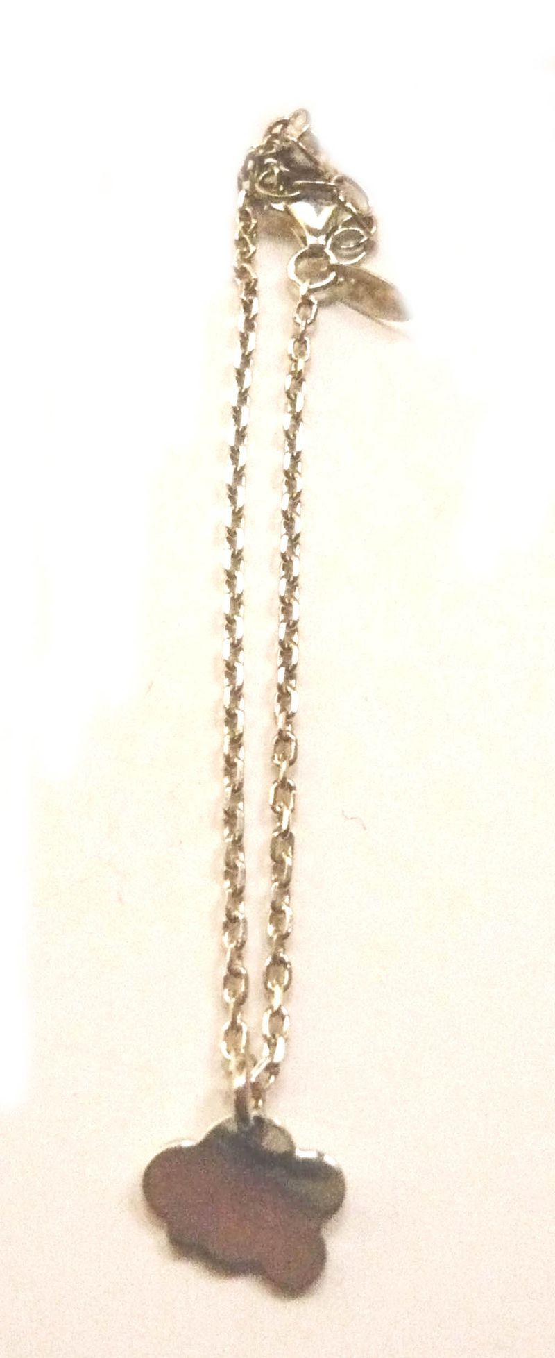 Bracelet nuage argent 1