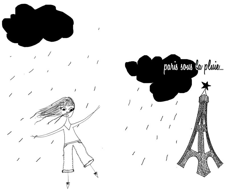 Lulu sous la pluie