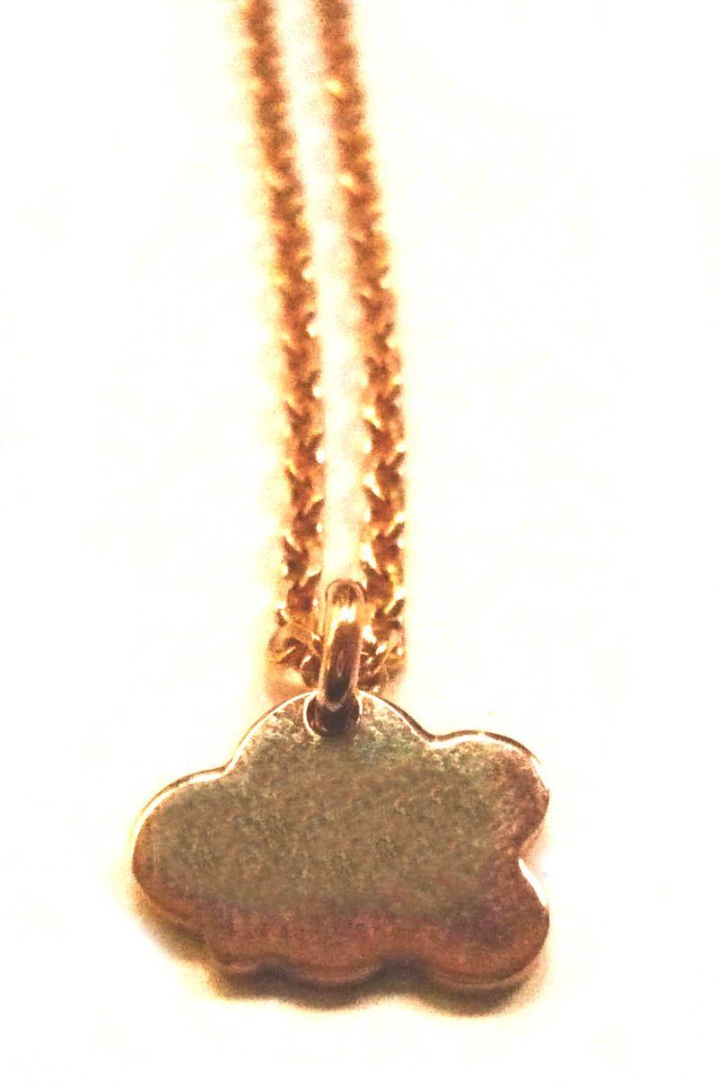 Bracelet nuage p.or 2