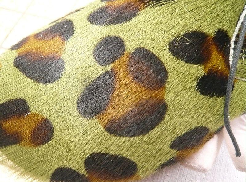 Derbys léopard kaki 2